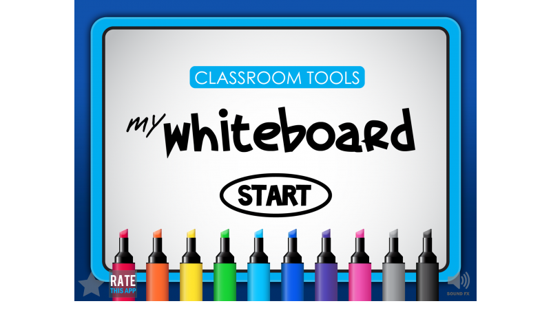 Classroom Tools - My Whiteboard