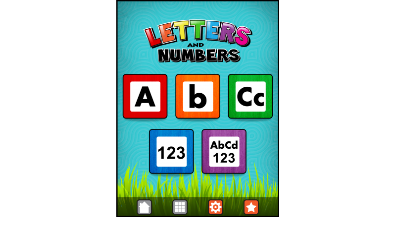 Learning Gems - Letters and Numbers