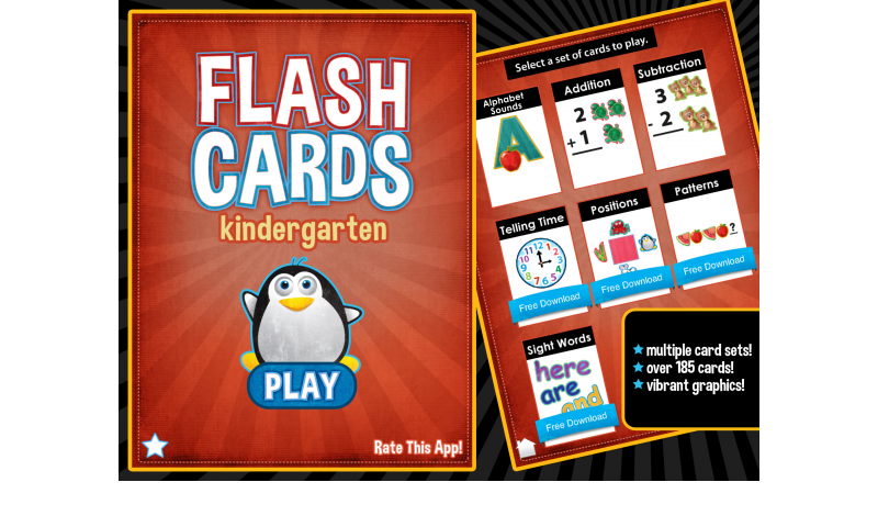 Learning Gems - Flashcards - Kindergarten