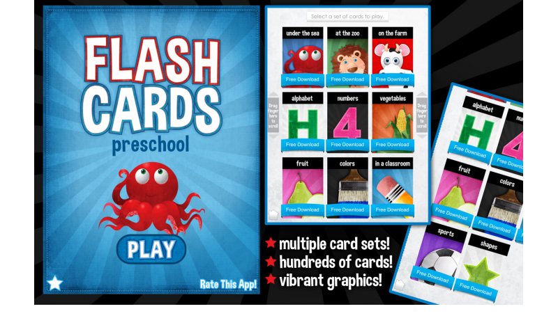 Flash Cards - Preschool