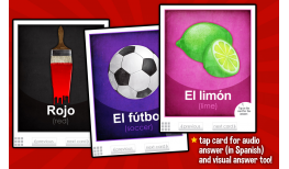 Learning Gems - Flash Cards - Spanish 1